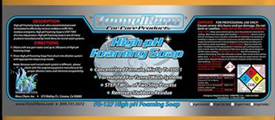 High pH Foaming Soap